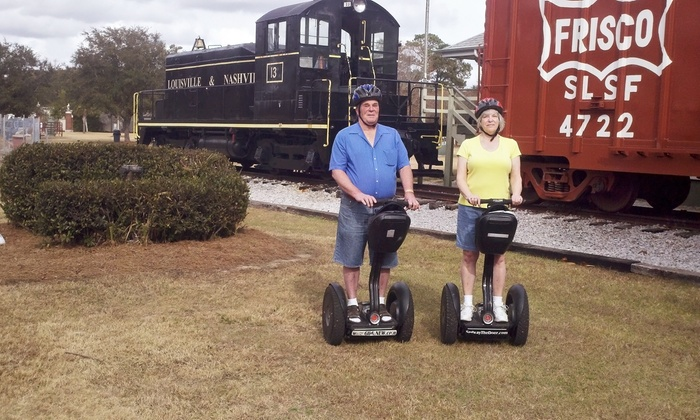 Glide the Gulf Tours - The Copper Kettle Tea Bar: Historic Foley Segway Tour for Two or Four from Glide the Gulf Tours (Up to 50% Off)