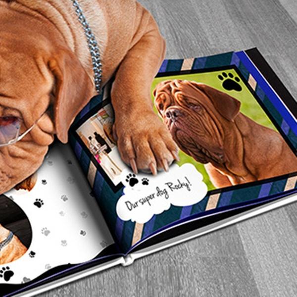 bec0a1895e8f Up To 86% Off on Custom Dog or Cat Photo Book | Groupon Goods