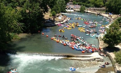 image for Two or Four Tube Rentals for One Float Valid Monday-Friday at New Braunfels Toobs (Up to 66% Off)