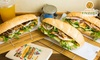 ベトナム定番サンドイッチ「5種類から選べるバインミー」他