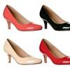 Riverberry Ruby Women's Round-Toe Kitten Heels