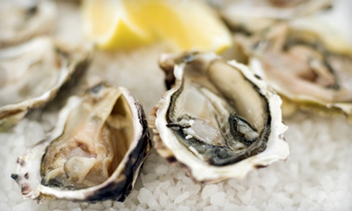 Caffe Regatta Oyster Bar & Grill - Pelham: Dinner for Two or Four Sunday–Friday or Saturday at Caffe Regatta Oyster Bar & Grill in Pelham (Up to 52% Off)