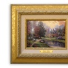 "12""x11"" Limited Edition Thomas Kinkade Lakeside Manor Print"