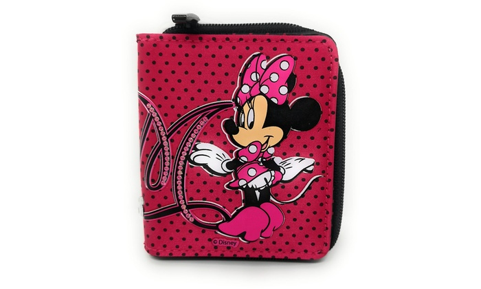 Disney Minnie Mouse Zip Wallet
