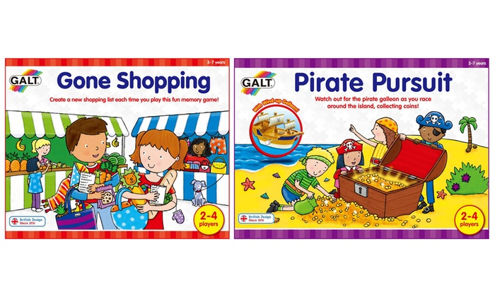 Gone Shopping or Pirate Pursuit Games | Groupon Goods