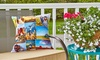 """Collage.com: One 16""""x16"""", 18""""x18"""", or 20""""x20"""" Personalized Outdoor Pillow from Collage.com (Up to 77% Off)"""