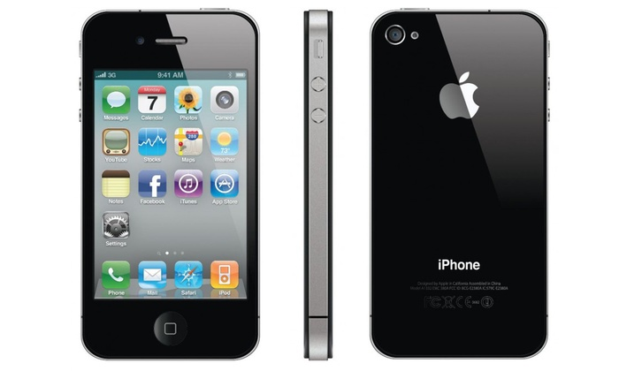 Black Iphone Reconditionne