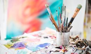 Westkunst Frankfurt: Painting Event inkl. Materialien für 1 oder 2 Personen bei Westkunst Frankfurt (bis zu 65% sparen*)