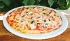 Menú de pizza para 2 o 4