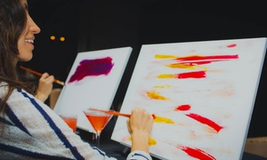 Paint and Drink Event for One, Two, or Four at Paint Boire (Up to 59% Off)