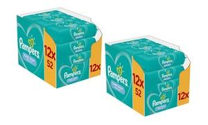 Packs de lingettes pour bébé Pampers