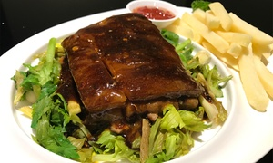 ChiWay Chinese Restaurant: Two-Course Chinese Meal for Two ($29), Four ($57) or Eight People ($112) at ChiWay Chinese Restaurant (Up to $232 Value)