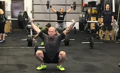 image for One Month of Unlimited CrossFit Classes for One or Two at CrossFit Phoenix (Up to 71% Off)