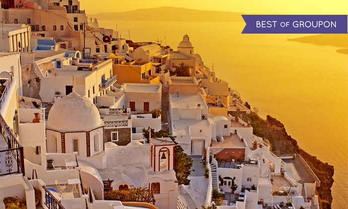 9-Day Greece Vacation with Airfare from Great Value Vacations