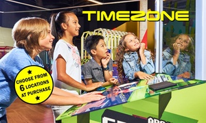 Timezone: $50 or $75 to Spend on Games at Timezone - Six Locations