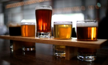 image for Two or Four Flights and Growlers at East Brother Beer Company (Up to 42% Off)