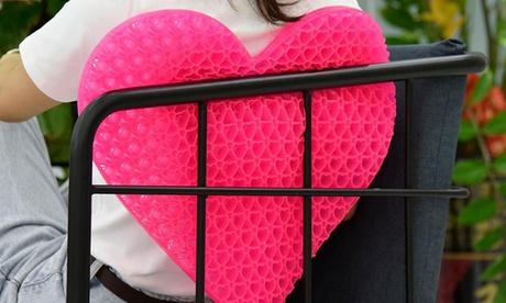 Cojín de gel en forma de corazón