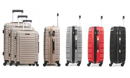Set de 3 maletas BlueStar modelo Lima en ABS