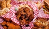 Chicken Bonz - Las Vegas - Multiple Locations: Chicken Meal for Two with Salad Bar or $6 for $12 Worth of Chicken at Chicken Bonz Las Vegas (Up to 55% Off)