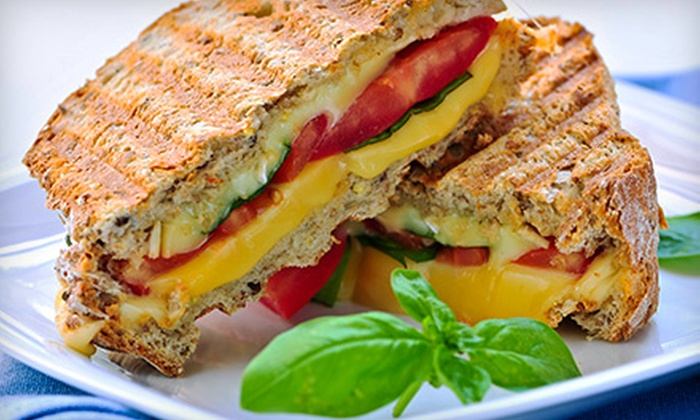 Sertinos Café - Downtown Huntington Beach: Artisan Sandwiches and Salads for Two or Four at Sertinos Café (50% Off).