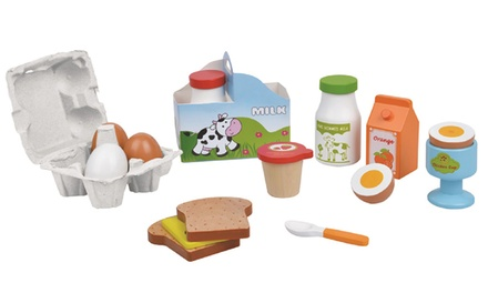 Lelin Wooden Breakfast Toy Set