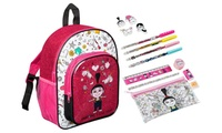 Despicable Me Stationery-Filled Unicorn Backpack