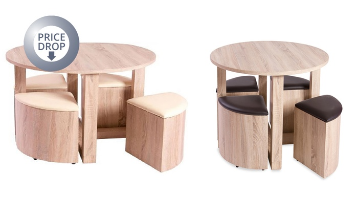 Terrific Bedford Dining Set Groupon Goods Home Interior And Landscaping Ologienasavecom