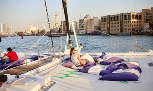 Belevari Marine: Two-Hour Dubai Creek Catamaran Cruise for Up to Four with Belevari Marine (Up to 70% Off)