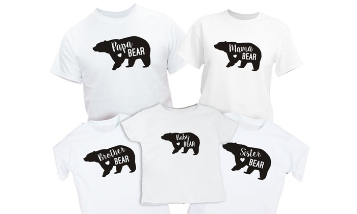 ec5c36056 Personalized Family Bear Shirt (Up to 49% Off)