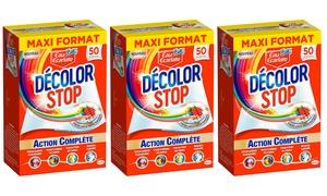 Lingettes decolor stop