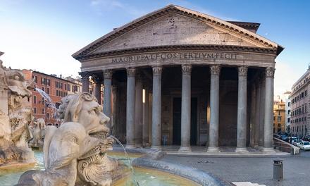 Tour di Roma e aperitivo in barca sul Tevere per 2 persone con Sotterranei di Roma (sconto fino a 59%)