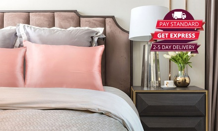 $39 for Two Mulberry Silk Pillowcases Don't Pay $229