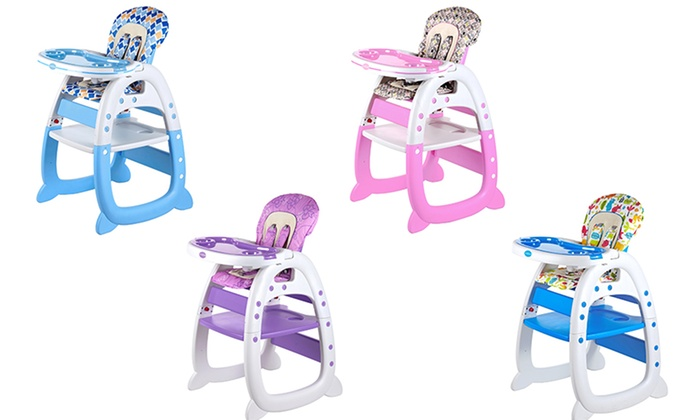 Marvelous Baby Highchair Desk 2 In 1 Groupon Goods Caraccident5 Cool Chair Designs And Ideas Caraccident5Info