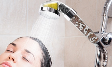 Scented Natural Filter Shower Head in Choice of Scent