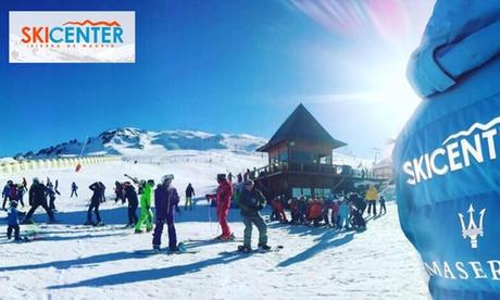 Curso de esquí o snowboard de 1 a 5 días para niño o adulto en Valdesquí con Skicenter
