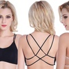 Caged Back Strappy Bralette