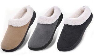 d8064fbd8e1 MK Belted Collection Men s Memory Foam Indoor Outdoor Slippers