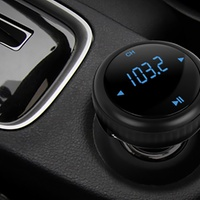 Wireless MP3 FM Transmitter Car Kit Deals