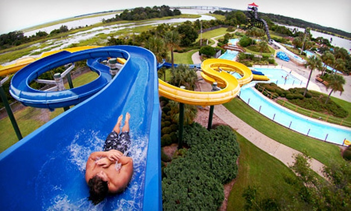 Jekyll Island Authority - Summer Waves Water Park: One-Day or Two-Day Admission to Summer Waves Water Park on Jekyll Island (Up to Half Off)
