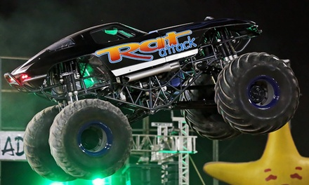 $19 for Tournament of Destruction Monster-Truck Event and VIP Pass at Tucson Rodeo Grounds on October 3 or 4 ($37 Value)