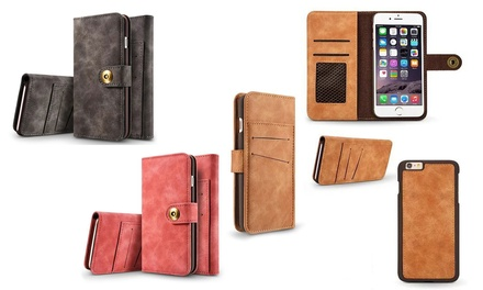 Wallet with Removable Mobile Case