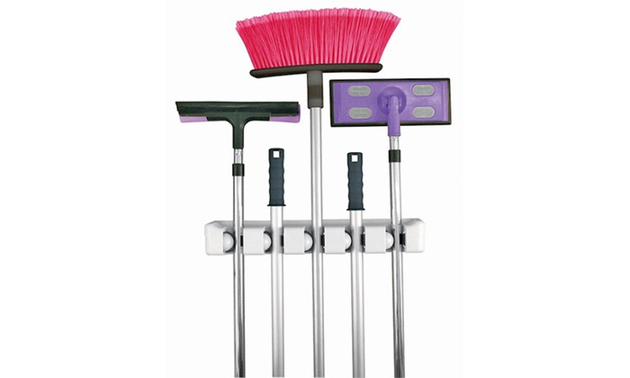saver shopping - Merchandising (AE): Broom Holder Set for AED 49 (53% Off)