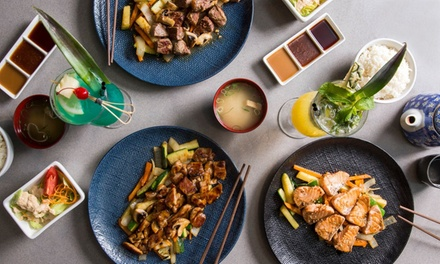 6Course Teppanyaki Experience: Two $59, Four $115 or Six People $169 @ Kamikaze Chermside Up to $349.35 Value