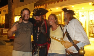 Haunted Walking Tour for Two or Four from Ghost Tours of St. Augustine (Up to 60% Off)