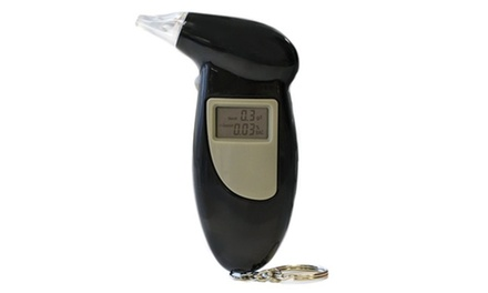 Portable Digital Alcohol Breathalyser: One $12.95 or Two $21.95 Don't Pay up to $98