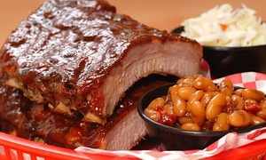 Ludy's Main Street BBQ and Catering: Barbecue for Two or Four at Ludy's Main Street BBQ and Catering (Up to 42% Off)