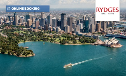 North Sydney: 4* 1-2 Nights for Two with Beers or Wine, Parking and Late Check-Out at Rydges North Sydney