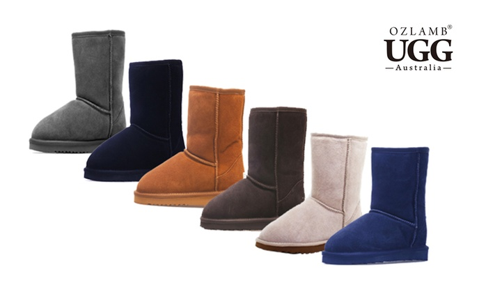 $79 Ozlamb Premium 3/4 Mid UGG Boots in Choice of Colour and Size (Don't Pay $239)