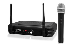 Pyle PDWM1800 Premier Series UHF Wireless Handheld Microphone System