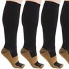 5-Pack Copper-Infused Compression Socks